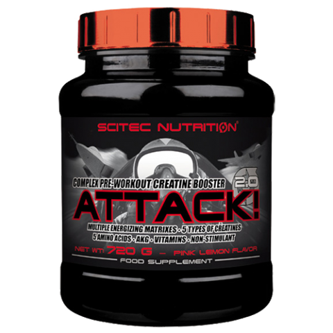 Scitec Nutrition - Attack!