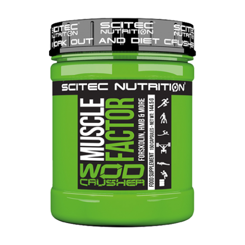 Scitec Nutrition - Wod Crusher - Muscle Factor