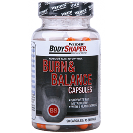 Weider - Body Shaper - Burn & Balance