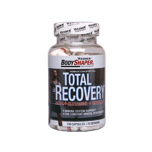 Weider - Body Shaper - Total Recovery Caps