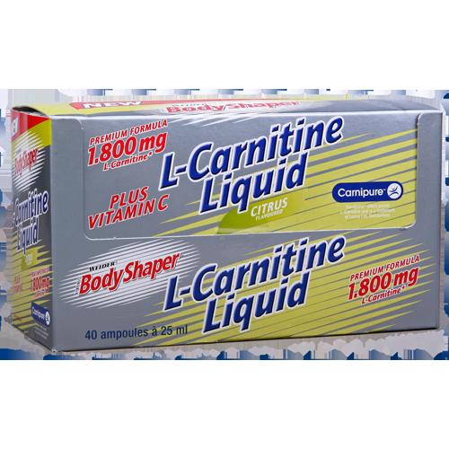 Weider - Body Shaper - L-Carnitine Liquid
